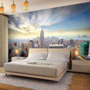 Fototapete New York Schlafzimmer